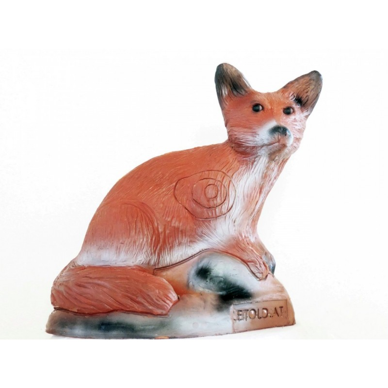 Leitold 3D Tier Jungfuchs sitzend