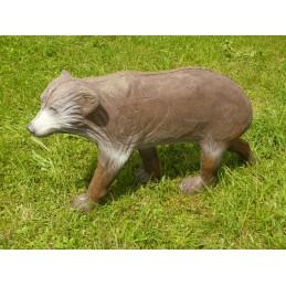Leitold 3D Tier Kleiner Braunbär laufend