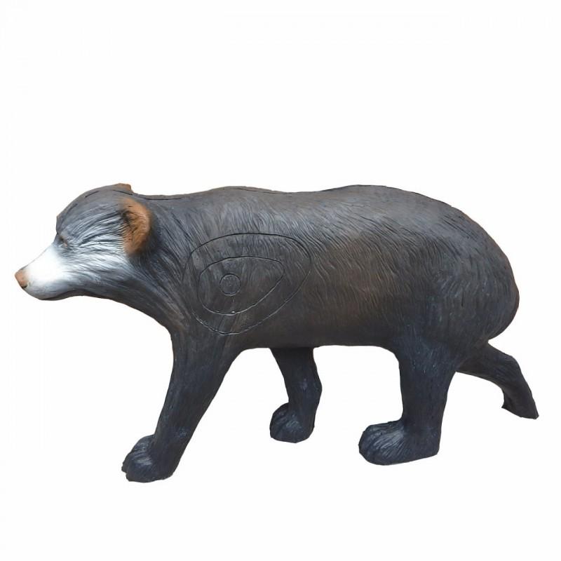 Leitold 3D Tier Kleiner Schwarzbär laufend
