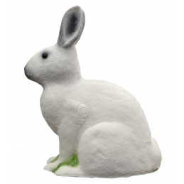 IBB 3D Tier Schneehase sitzend