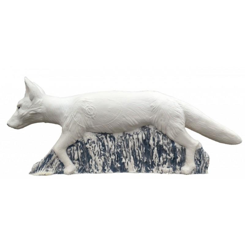 IBB 3D Tier schnürender Polarfuchs