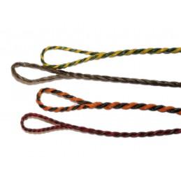 Dacron B55 Flämisch Spleiss Sehne dunkle Farben zufällige Farbauswahl