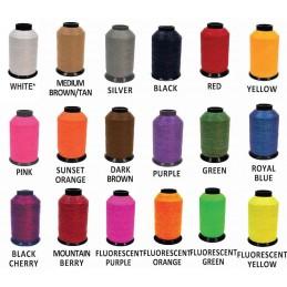 Dacron B55 Flämisch Spleiss Sehne Farben zufällig ausgewählt
